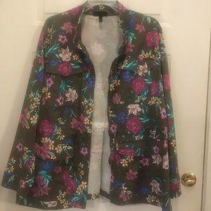 Lane Bryant Floral jacket